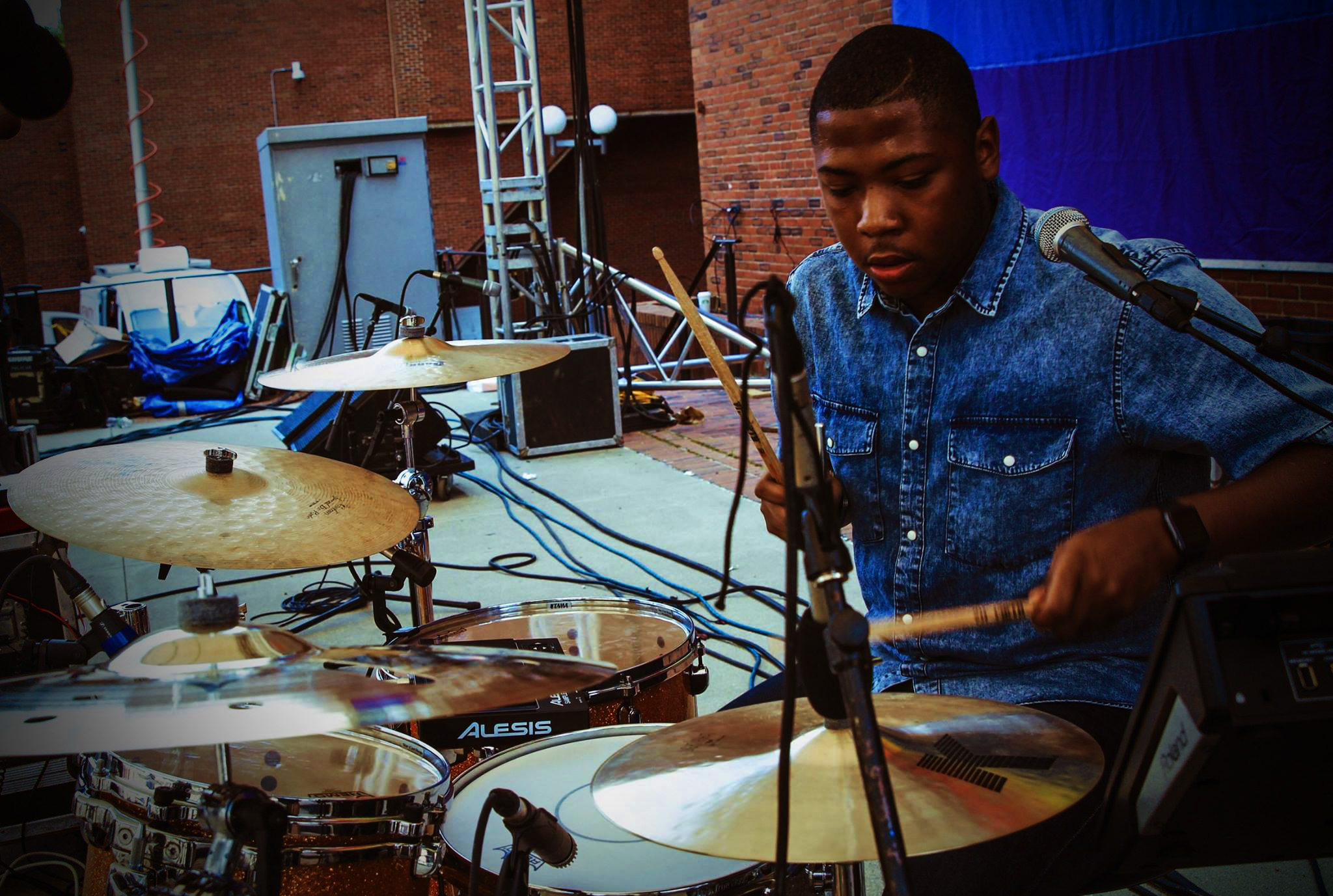 Brandon Bradley | The Burgeoning | Contact Us | Drums